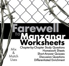 Worksheets Farewell To Manzanar Worksheets farewell to manzanar worksheets abitlikethis jeannewakatsukihoustonscompellingtruestoryfarewellto