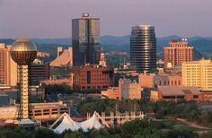 Knoxville...I wish I could get rob to move there because I miss it so much!!