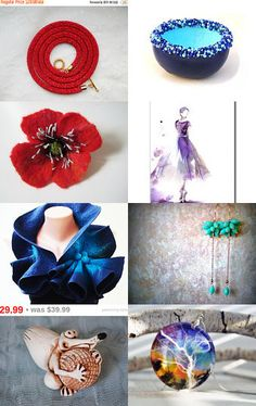 Christmas Gifts ! Lovely !  by Mila on Etsy--Pinned with TreasuryPin.com