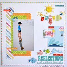 Write Snap Scrap: Seaside Reflections: Echo Park Paper
