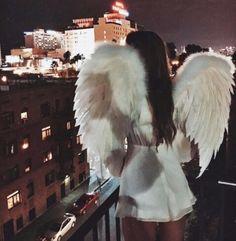 Картинка с тегом «girl, angel, and white»