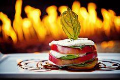 Sliced Garden Tomatoes with House-made Mozzarella