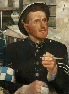 Scottish Policeman, 1941-42, by James Cowie (1886-1956)