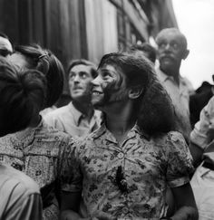 Robert Doisneau // La Fete Foraine, 1949 ( http://www.gamma-rapho.com/fr/asset/fullTextSearch/search/robert+doisneau/page/1