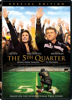 The 5th Quarter Christian Movie/Film on DVD/Blu-ray. The death of a promising young athlete just days before his 16th birthday inspires his older brother to lead his college football team to new heights in The 5th Quarter, the moving saga of the Abbate family of Marietta, Georgia. http://www.christianfilmdatabase.com/review/the-5th-quarter/
