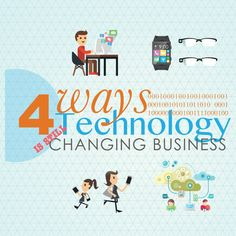 4 ways technology is changing Business