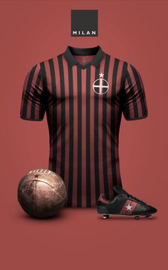 One of the greatest sports on the planet is soccer, also referred to as football in most nations around the world. Football Icon, Football Tops, Football Is Life, Retro Football, Football Jerseys, Camisa Retro, Camisa Vintage, Ac Milan Kit, Milan Wallpaper