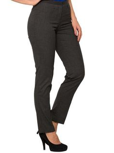 Buy Park Avenue Grey Women Trouser Online || Buy Park Avenue Trouser || Buy Grey Trouser