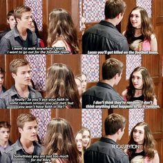 "#GirlMeetsWorld 3x01 ""Girl Meets High School: Part One"" - Riley and Lucas"