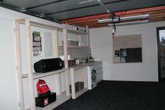 Orange Team Garage and Laundry - NZ Mitre 10 Dream Home 2013