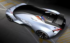 Peugeot's entry in the title is the Vision Gran Turismo