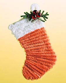 Pipe-Cleaner Stocking Ornament
