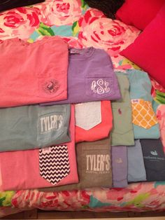 A southern girl can never have too many t-shirts