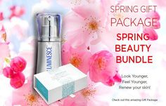 "Pachet promotional ""Spring Beauty""  Nu rata oferta lunii Februarie! Gift Packaging, Your Skin, Best Gifts, Perfume Bottles, Spring, Beauty, Gift Wrapper, Beleza, Gift Wrapping"