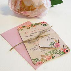 Invitatie de nunta Krafted Love - 4,9