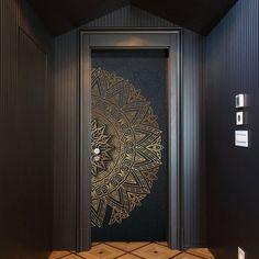 Main Entrance Door Design, Wooden Main Door Design, Front Door Design, Single Door Design, Le Riad, Plafond Design, Door Design Interior, Modern Interior, Door Stickers