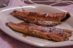 Mis Recetas de Cocina: Truchas teriyaki Steak, Pork, Cooking Recipes, Kale Stir Fry, Steaks, Pork Chops