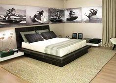 Bedroom Design Ideas Men 22 Bachelor's Pad Bedrooms For Young Energetic Men  Black Beds