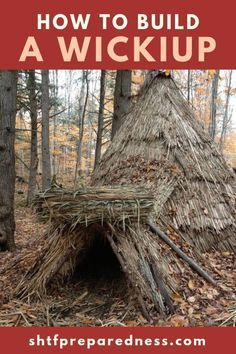 A valuable outdoor survival skill is knowing how to build a shelter. It is important for your survival to know the proper techniques to make a shelter. Survival Shelter, Survival Life, Homestead Survival, Survival Food, Wilderness Survival, Camping Survival, Outdoor Survival, Survival Prepping, Survival Skills