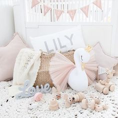 Baby Girls Room ◇ @luxurykidstrends on Instagram #kidsinterior #kidsroom #kidsdecor