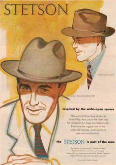 Stetson Hats 1952