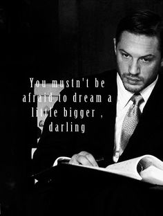 Tom Hardy - Eames quote, Inception