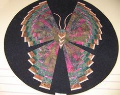 Butterfly Quilted Wall-Hanging