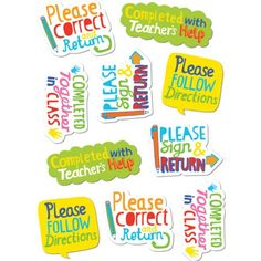 Time-Saving Phrases Stickers Teacher Stickers, Reward Stickers, Diy Stickers, Printable Stickers, Preschool Classroom, Classroom Activities, Kindergarten, Teacher Tools, Teacher Hacks