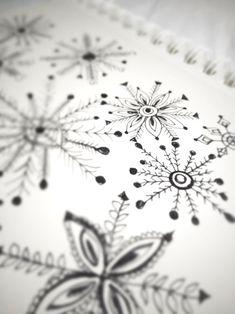 snowflakes. Alisa Burke.
