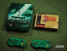 Interesting one by anark_grafik #retrogaming #microhobbit (o) http://ift.tt/2bj0UBa in time ! Almost 3 years ago I do this custom SNES Zelda ALTTP themed one of my favorite work long and difficult but very beautiful result :) And you do you love it ? More of my work on my FB : Anark Grafik  #supernintendo #snes #nintendo #zelda #zeldafan #thelegendofzelda #alinktothepast #alttp #nintendofan #nintendofans  #retrogamer #retrogames #superfamicom #triforce #custom #moding #airbrush #painting…