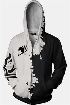 MichaelWare Mans Casual Black Butler Full Size Printing Pocket Hooded