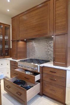 Kitchen Drawers Instead Of Cabinets shaker style cabinets & hood vent love this! | i'm dreaming of a