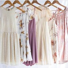 I love girly clothes like these!