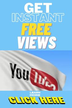 Use this Free website to get the YouTube Videos views you deserve to your YouTube Video. You can get more views on YouTube absolutely free. Free Youtube, You Youtube, Youtube Without Ads, Get Youtube Views, Youtube Advertising, Youtube Hacks, Congratulations To You, Free Website, You Videos