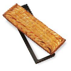 Moules et plaques à pâtisserie : Moule à tarte amovible rectangle 36 cm