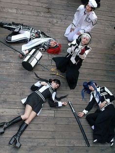 Yu Kanda, d.gray-man cosplay...this is some amazing cosplay! :D