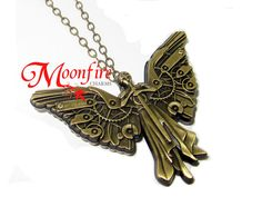 THE INFERNAL DEVICES Tessa's Clockwork Angel Pendant Necklace I hope my mom gets the hint.