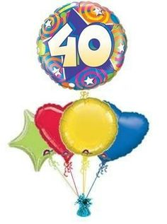 """birthdays made special with beautiful """"STARS & SWIRLS"""" birthday balloons. Wonderful Birthday Balloons in a box from the Balloonking, the balloon experts! 40th Birthday Balloons, 50th Birthday, Balloon Delivery, Balloon Bouquet, The Balloon, You Are My Sunshine, Swirls, Birthdays, Anniversaries"""