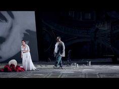 TOSCA | Oper von Giacomo Puccini Libretto von Giuseppe Giacosa | Regie Eva-Maria Höckmayr  Puccinis Musik: schön zum Steine erweichen. Das Herz des Polizeichefs Scarpia: eisenhart. Der politische Gefangene Angelotti bringt sich um. Der Maler Cavaradossi wird hingerichtet. Die Sängerin Tosca stürzt sich in die Tiefe nachdem sie den Bösewicht Scarpia erstochen hat. Drei Fluchten vor Staatsmacht Folter und Exekution die nicht in eine neue Heimat münden sondern geradewegs in den Tod. Keine…