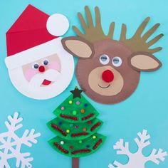 We have lots of Christmas craft ideas! Which one of these would you make?