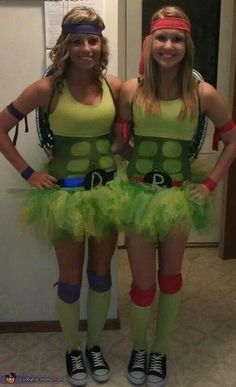 This should be us next year. Should do the whole crew. Love it! Tmnt girl style