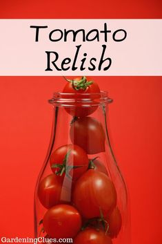 Add some tomato tang to your hamburgers, meatloaf or lamb chops with some lively tomato relish! See great recipes here! Great Recipes, Dinner Recipes, Tomato Relish, Lamb Chops, Hamburgers, Meatloaf, Brunch, Gardening, Burgers