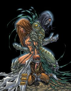 Witchblade #10/Darkness #0  Special Edition by Michael Turner