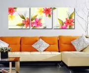 3 Frames Canvas Print