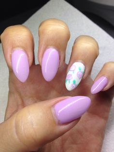 My nails. Gel nails with hand drawn design using gel  By Melissa Fox
