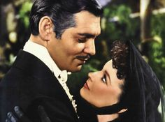 Scarlett O'Hara and Rhett Butler-the best movie couple of all time! Description from pinterest.com. I searched for this on bing.com/images