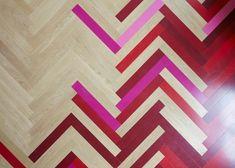 Alma-nac renovates London apartments with herringbone patterns