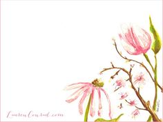 Lauren Conrad spring wallpaper