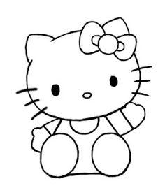 How To Draw Hello Kitty Drawingtutorials101 Com Hello Kitty