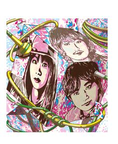 IKIMONOGAKARI  by graphic 10artist FourGraphic Music Like, The Beatles, Archive, Princess Zelda, Japanese, Memes, Videos, Artwork, Fictional Characters